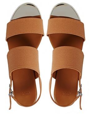 ASOS | ASOS FOOTFALL Flat Sandals at ASOS