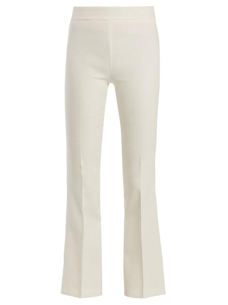 GIAMBATTISTA VALLI flare white pants