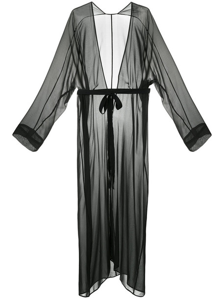 Zambesi gown long women black silk dress