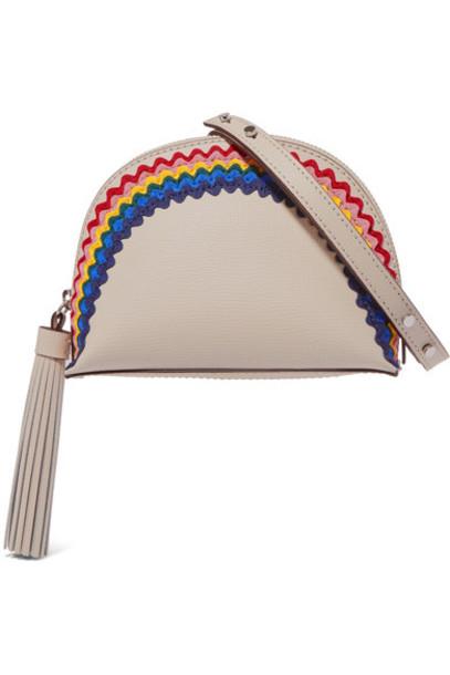 Loeffler Randall bag shoulder bag leather cream