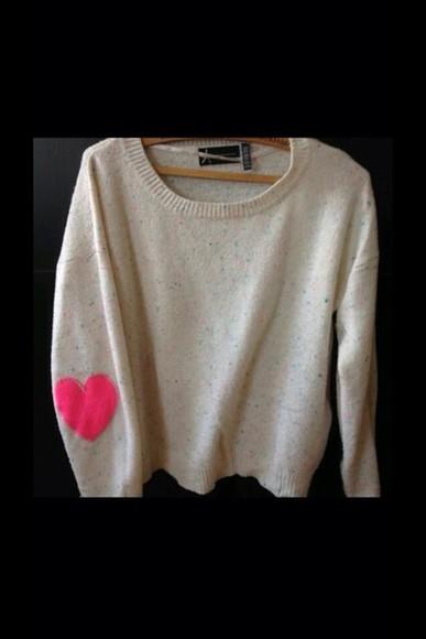 heart knitwear knit sweater pullover winter sweater knitted sweater fall sweater