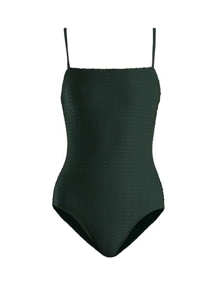 ERES dark green swimwear