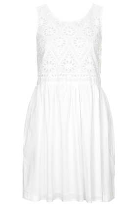 Broiderie Chuck On Sundress - Topshop