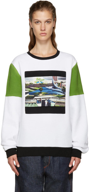 Opening Ceremony White Space Agriculture Sweatshirt