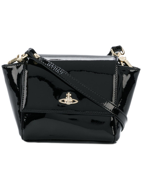 Vivienne Westwood women bag crossbody bag leather black