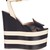 Sally leather wedge sandals