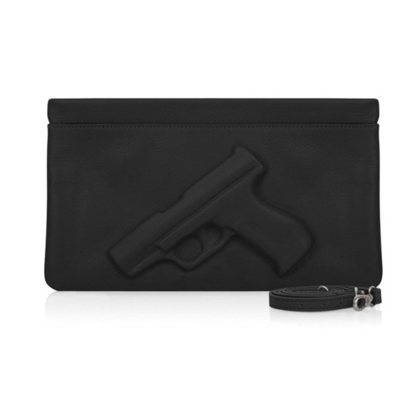 bag black clutch trill sway