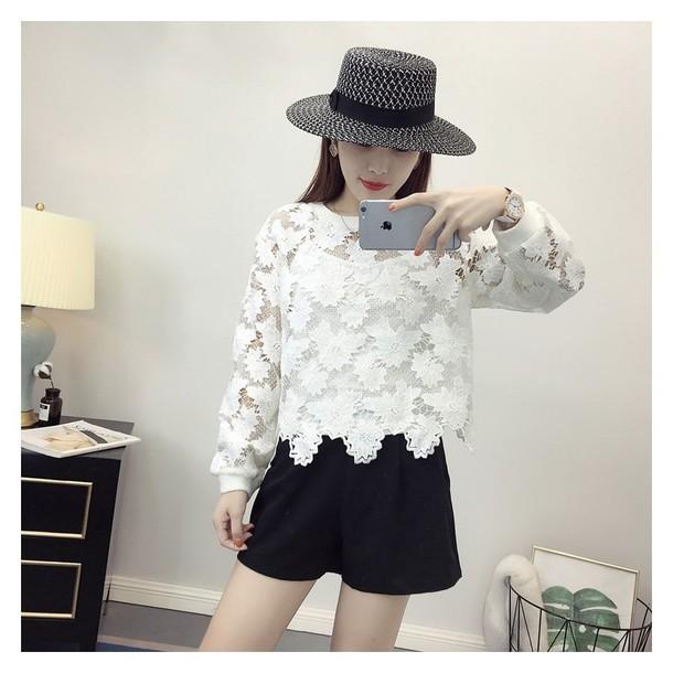 dress vogue crochet summer outfit flexible floor lamp