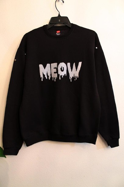sweater cats meow