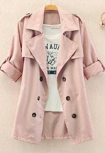 Coat: summer, pink, turquoise, summer jacket, cute, girly, short ...