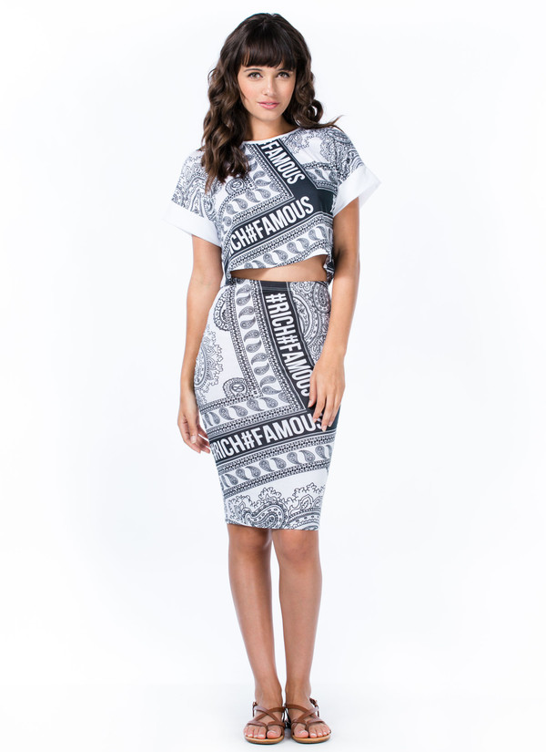 skirt quote on it print pencil skirt high waisted paisley