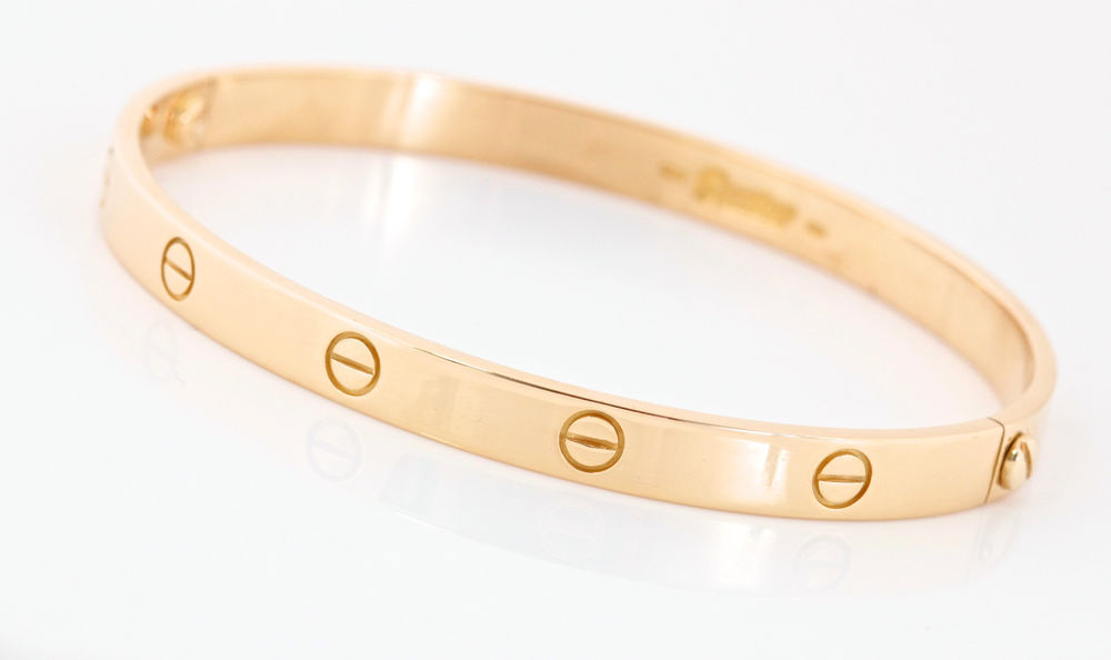 Cartier Yellow Gold Love Bracelet Size 21 | eBay