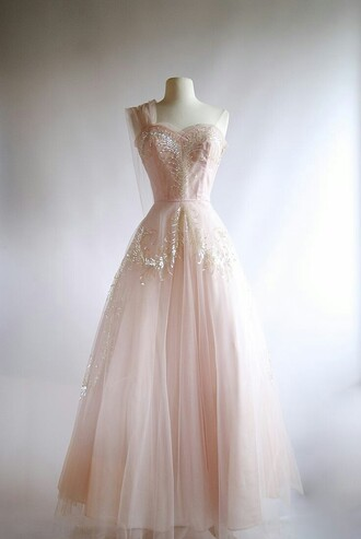dress pastel pink pink dress prom dress prom gown ball gown dress