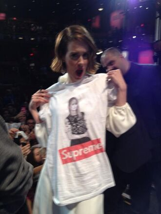 t-shirt supreme sarah paulson ahs coven