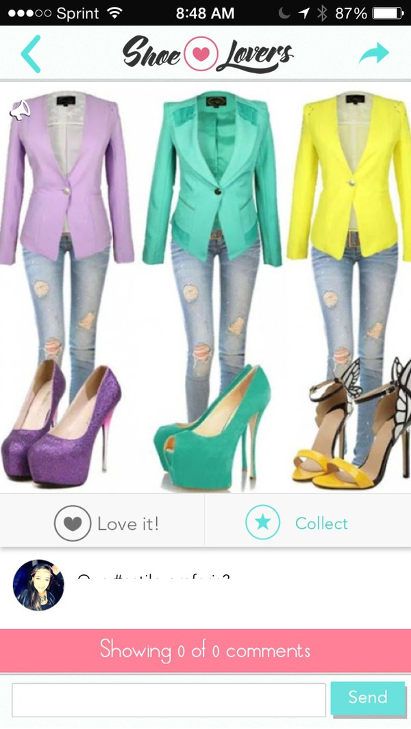 jacket colorful blazers exactly these