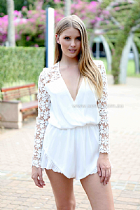 THE PUREST LOVE DRESS PLAYSUIT , DRESSES, TOPS, BOTTOMS, JACKETS & JUMPERS, ACCESSORIES, 50% OFF , PRE ORDER, NEW ARRIVALS, PLAYSUIT, COLOUR, GIFT VOUCHER,,White,LONG SLEEVES Australia, Queensland, Brisbane