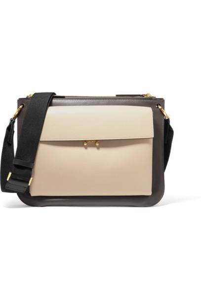 MARNI bag shoulder bag leather black