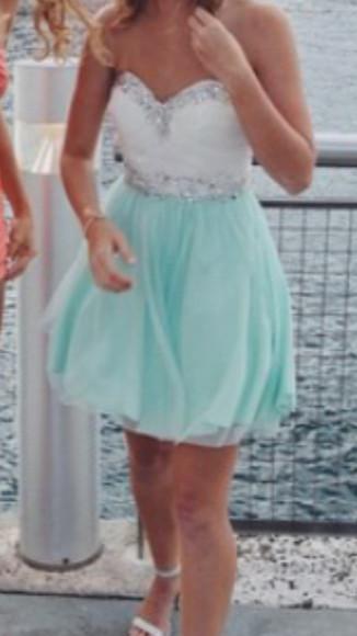 homecoming dress sparkle short 2014
