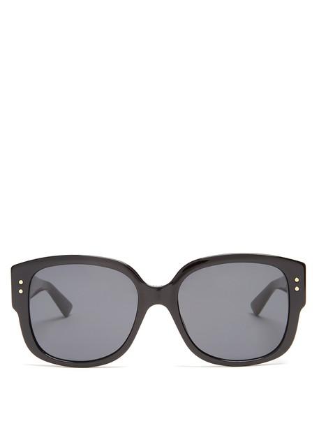 lady sunglasses black