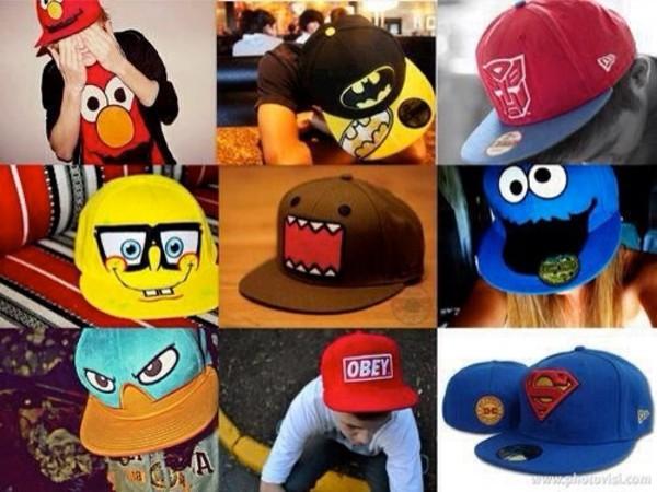 hat style nice cute batman obey menswear cap