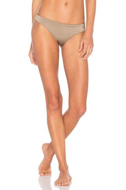 075c79057f2a4 eberjey Beach Glow Annia Bikini Bottom in brown - Wheretoget