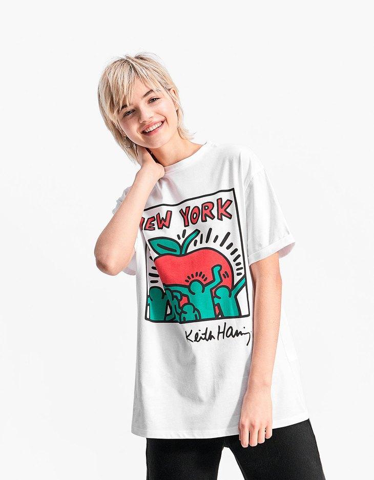 T-shirt Keith Haring - null | Stradivarius France