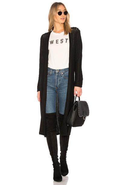 Lovers + Friends cardigan cardigan black sweater