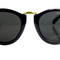 Gold trim arrow sunglasses – sarahaghili.com