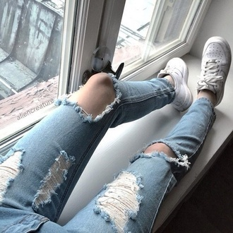 jeans indie aesthetic light denim soft pale grunge