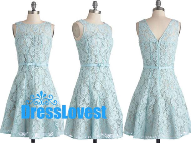 64f257311d3c lace short dresses blue lace dresses simple lace dresses lace bridesmaid  dresses bridesmaid short bridesmaid dresses