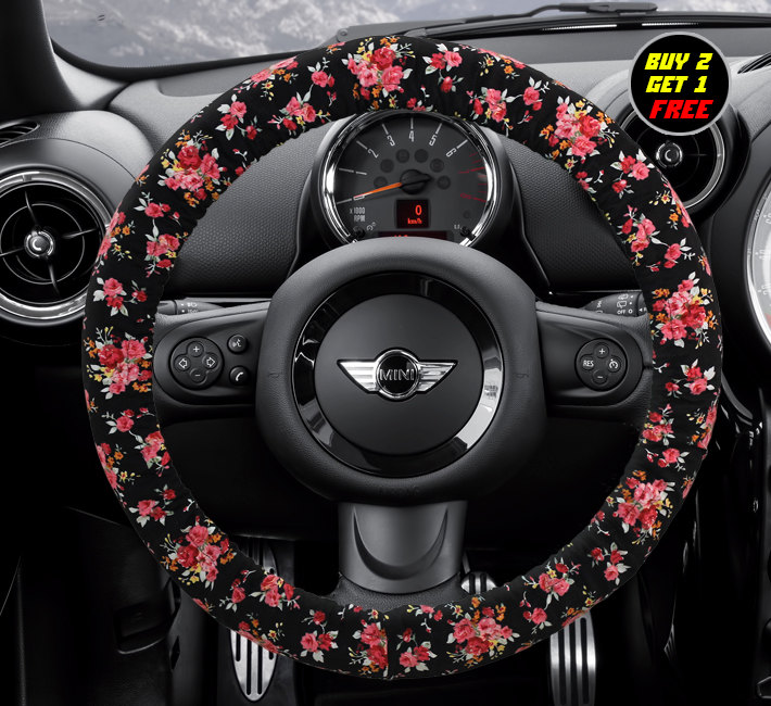 steering wheel cover bow wheel car accessories lilly heated for girls interior aztec monogram. Black Bedroom Furniture Sets. Home Design Ideas