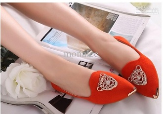 shoes flats loafers tiger face