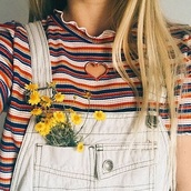 blouse,girly,girl,girly wishlist,stripes,striped top,heart,cut-out