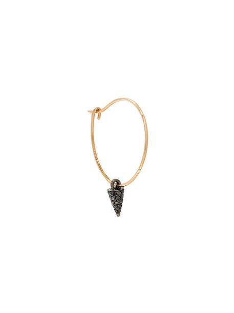 Asherali Knopfer rose gold rose women gold black grey metallic jewels