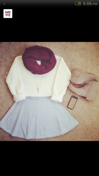 white sweater warm sweater cute sweaters