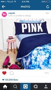 home accessory,victoria's secret,pink by victorias secret,dorm room,bedding