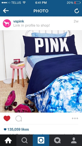 home accessory victoria's secret pink by victorias secret dorm room bedding