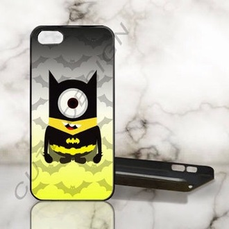 phone cover iphone 5 case batman minions