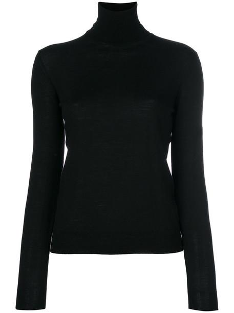 Ballantyne sweater turtleneck turtleneck sweater women black wool