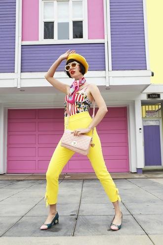 a fashion nerd blogger bag swimwear shoes scarf pants skirt