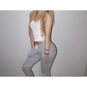 pants sweatpants nike grey pants nike sweatpants