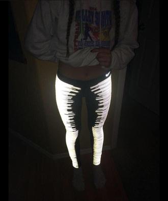 leggings leggings lightning glowing sweater