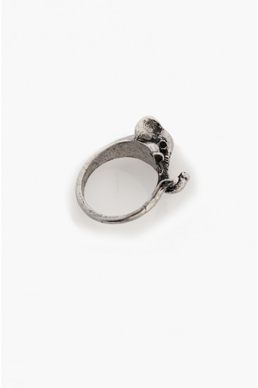 LoveMelrose.com From Harry & Molly | Vintage Elephant Ring - Silver