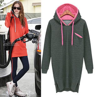 Aliexpress.com : Buy Femininos Fudadera Fashion Women 2014 New Long Sweatshirts Hoodies Pullovers Women Fleece long sleeved Hoodie from Reliable pullover fashion suppliers on Vogue Official Online Shop