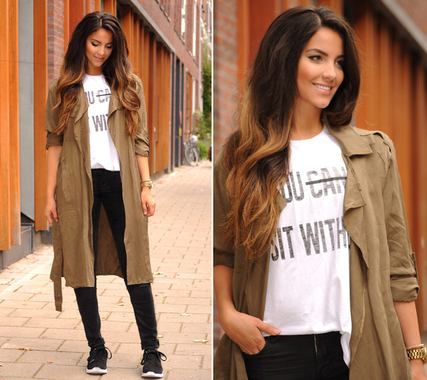 satisfashion blogger jacket top jeans shoes