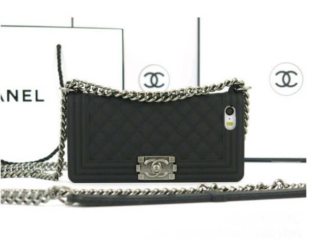 phone cover, chanel, chanel chain bag, chanel iphone case ...