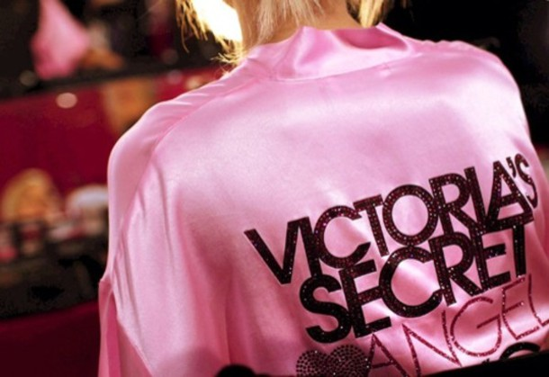 jacket victoria's secret vs angel victoria's secret model