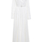 Floor length pijama shirt gown | moda operandi