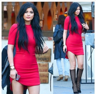 dress red hot