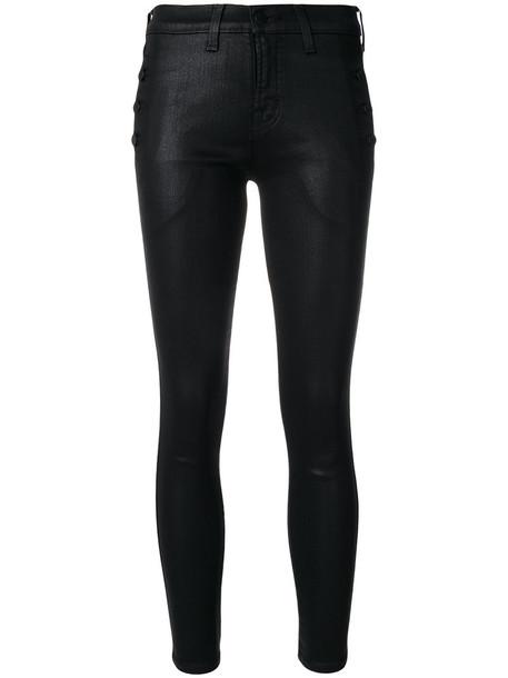 J BRAND jeans skinny jeans women spandex cotton black